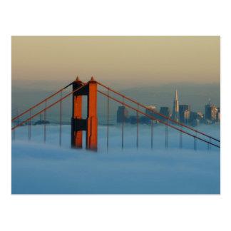 Carte Postale Le brouillard roule par San Francisco Bay