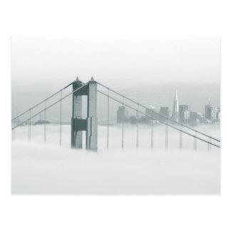 Carte Postale Le brouillard roule par San Francisco Bay 2