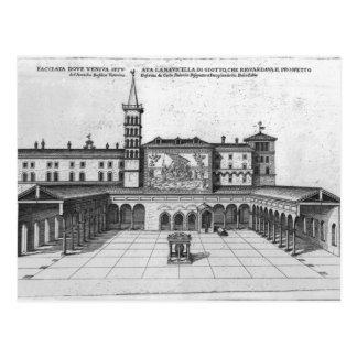 Carte Postale Le bungalow de bénédiction de vieux Vatican