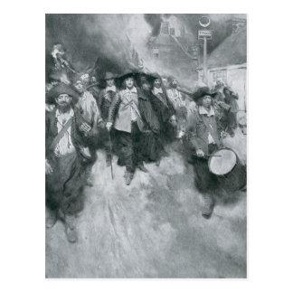 Carte Postale Le Burning de Jamestown