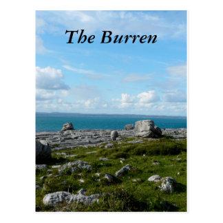 Carte Postale Le Burren