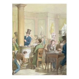 Carte Postale Le café de Commerce, du 'tableau De Paris