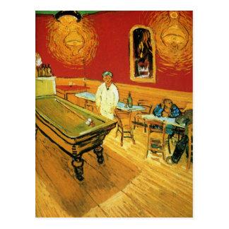 Carte Postale Le café de nuit par Vincent van Gogh