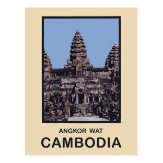 Carte Postale Le Cambodge Angkor Vat