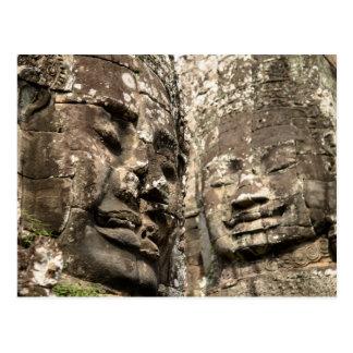 Carte Postale Le Cambodge, Angkor Vat. Angkor Thom, Bayon