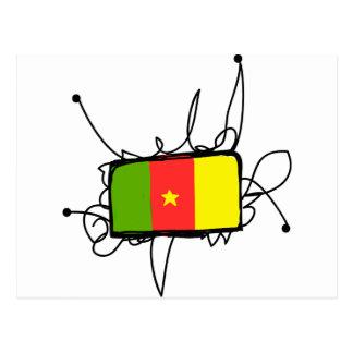 Carte Postale Le Cameroun