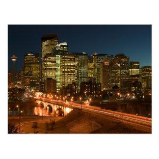 Carte Postale Le Canada, Alberta, Calgary : Calgary du centre,