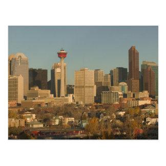 Carte Postale Le Canada, Alberta, Calgary : Horizon de ville de