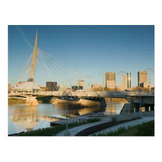 Carte Postale Le CANADA, Manitoba, Winnipeg : Esplanade Riel