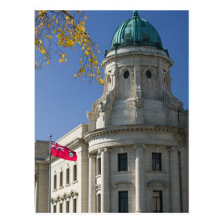 Carte Postale Le CANADA, Manitoba, Winnipeg : Les palais de