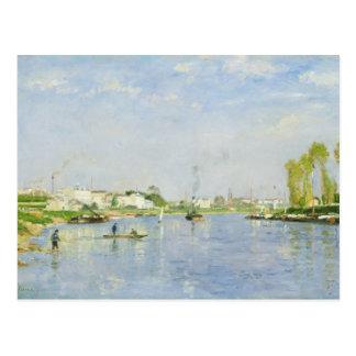 Carte Postale Le canal Saint-Denis
