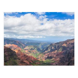 Carte Postale Le canyon de Waimea