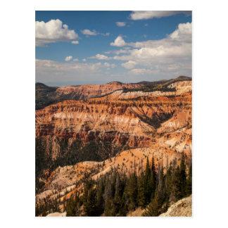Carte Postale Le cèdre casse le monument national, Utah