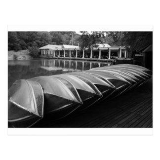 Carte Postale Le Central Park de Boathouse