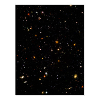 Carte Postale Le champ Ultra-Profond de Hubble