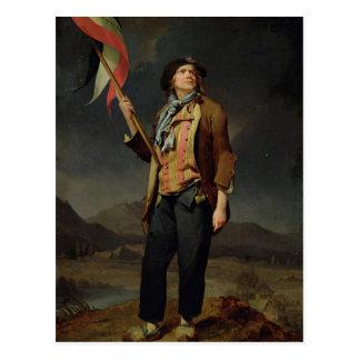 Carte Postale Le chanteur Chenard, comme a Sans-Culotte, 1792