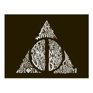 Carte Postale Le charme | de Harry Potter DE MORT SANCTIFIE la