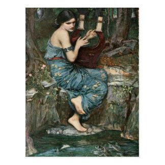 Carte Postale Le charmeur par John William Waterhouse