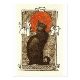 Carte Postale Le chat de Steinlein - art Nouveau