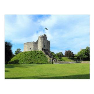 Carte Postale Le château de Cardiff gardent II