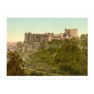 Carte Postale Le château, Durham, Angleterre