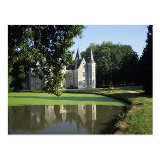 Carte Postale Le château en parc et M. de jardins)