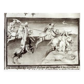 Carte Postale Le chef mongol, Hulagu, khan de l'Ilkhanate