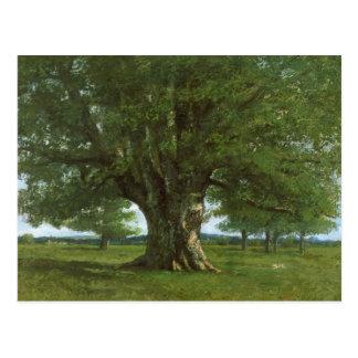 Carte Postale Le chêne de Flagey, appelé Vercingetorix