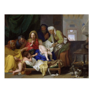 Carte Postale Le Christ de sommeil, 1655