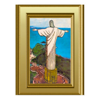 Carte Postale Le Christ le Roi Rio de Janeiro
