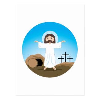 Carte Postale Le Christ levé