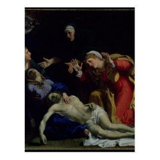 Carte Postale Le Christ mort pleuré, c.1604