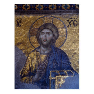 Carte Postale Le Christ Pantocrator