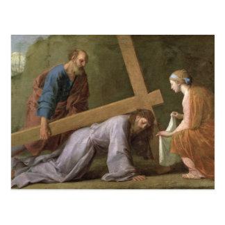 Carte Postale Le Christ portant la croix, c.1651