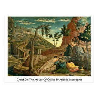Carte Postale Le Christ sur le mont des Oliviers par Andrea