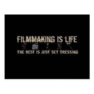Carte Postale Le cinéma est la vie