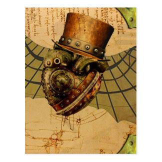 Carte Postale Le coeur du voyageur de temps