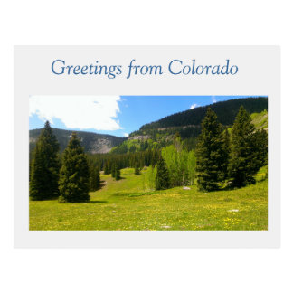 Carte Postale Le Colorado grand