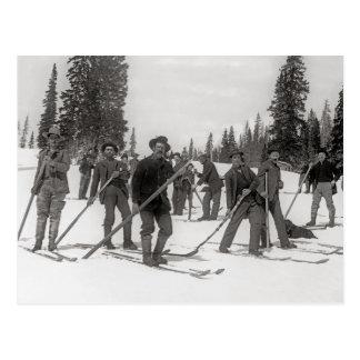 Carte Postale Le Colorado Skiers, 1910