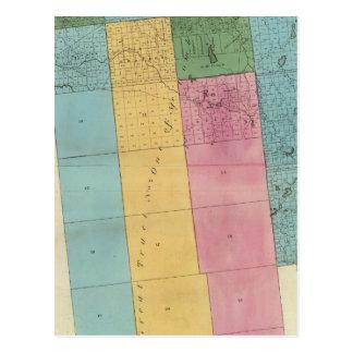 Carte Postale Le comté de Franklin