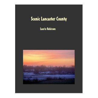 Carte Postale Le comté de Lancaster pittoresque