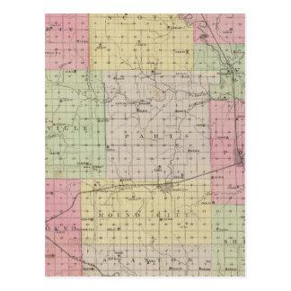 Carte Postale Le comté de Linn, le Kansas