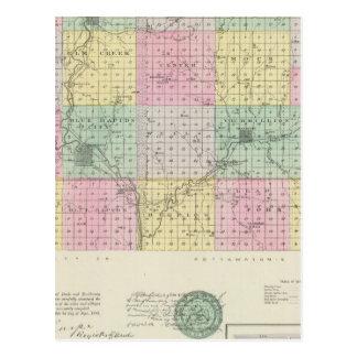 Carte Postale Le comté de Marshall et Irving, le Kansas