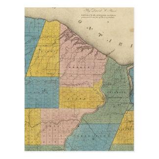 Carte Postale Le comté de Monroe