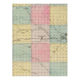 Carte Postale Le comté de Wallace, le Kansas
