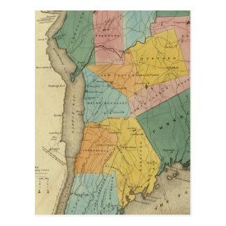 Carte Postale Le comté de Westchester