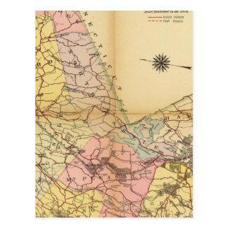 Carte Postale Le comté de Westchester, New York