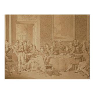 Carte Postale Le congrès de Vienne, 1815