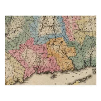 Carte Postale Le Connecticut 13