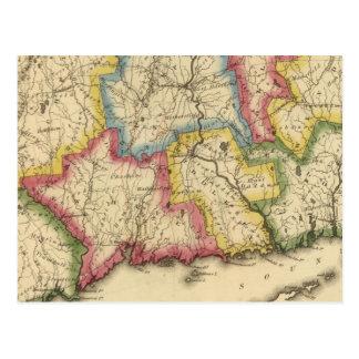 Carte Postale Le Connecticut 5